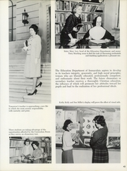 Page 47, 1962 Edition, Immaculata University - Gleaner Yearbook (Immaculata, PA) online yearbook collection
