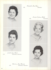 Immaculata University - Gleaner Yearbook (Immaculata, PA) online yearbook collection, 1962 Edition, Page 98