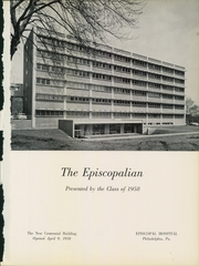 Page 5, 1958 Edition, Episcopal Hospital School of Nursing - Episcopalian Yearbook (Philadelphia, PA) online yearbook collection