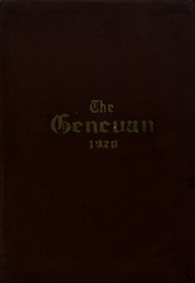 Geneva College - Genevan Yearbook (Beaver Falls, PA) online yearbook collection, 1920 Edition, Page 1