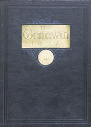 Geneva College - Genevan Yearbook (Beaver Falls, PA) online yearbook collection, 1928 Edition, Page 1