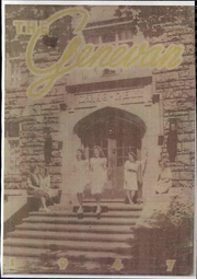 1947 Edition, Geneva College - Genevan Yearbook (Beaver Falls, PA)