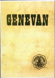 1948 Edition, Geneva College - Genevan Yearbook (Beaver Falls, PA)