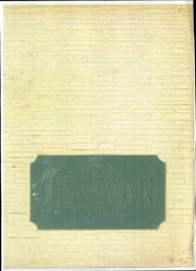 1952 Edition, Geneva College - Genevan Yearbook (Beaver Falls, PA)