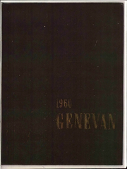 1960 Edition, Geneva College - Genevan Yearbook (Beaver Falls, PA)