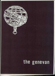 Page 1, 1970 Edition, Geneva College - Genevan Yearbook (Beaver Falls, PA) online yearbook collection