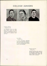 Page 15, 1941 Edition, Messiah College - Clarion Yearbook (Grantham, PA) online yearbook collection