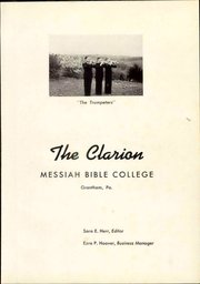 Page 7, 1941 Edition, Messiah College - Clarion Yearbook (Grantham, PA) online yearbook collection