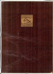 1940 Edition, Thiel College - Endymon Yearbook (Greenville, PA)