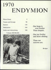 Page 7, 1970 Edition, Thiel College - Endymon Yearbook (Greenville, PA) online yearbook collection