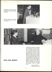 Page 11, 1962 Edition, St Vincent College - Tower Yearbook (Latrobe, PA) online yearbook collection