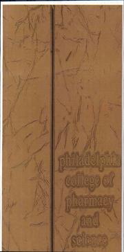 1970 Edition, Philadelphia College of Pharmacy - Graduate Yearbook (Philadelphia, PA)