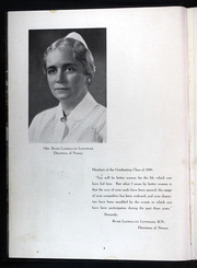 Page 12, 1939 Edition, Abington Memorial Hospital School of Nursing - Sonah Yearbook (Abington, PA) online yearbook collection
