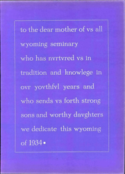 Page 15, 1934 Edition, Wyoming Seminary Prep School - Yearbook (Kingston, PA) online yearbook collection