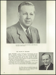 Page 16, 1955 Edition, Wyoming Seminary Prep School - Yearbook (Kingston, PA) online yearbook collection