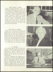 Page 17, 1955 Edition, Wyoming Seminary Prep School - Yearbook (Kingston, PA) online yearbook collection