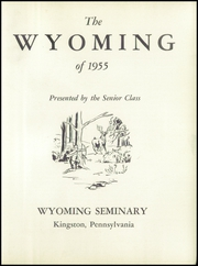 Page 7, 1955 Edition, Wyoming Seminary Prep School - Yearbook (Kingston, PA) online yearbook collection