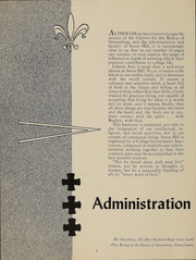 Page 11, 1952 Edition, Seton Hill University - Chevron Yearbook (Greensburg, PA) online yearbook collection