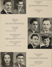 Page 15, 1948 Edition, Wilkes University - Amnicola Yearbook (Wilkes Barre, PA) online yearbook collection