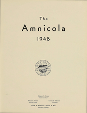 Page 4, 1948 Edition, Wilkes University - Amnicola Yearbook (Wilkes Barre, PA) online yearbook collection