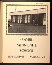 Page 3, 1975 Edition, Kraybill Mennonite School - Summit Yearbook (Mount Joy, PA) online yearbook collection