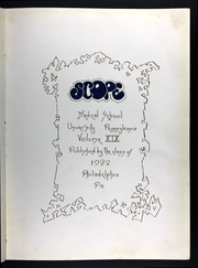 Page 7, 1922 Edition, University of Pennsylvania School of Medicine - Scope Yearbook (Philadelphia, PA) online yearbook collection