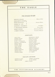 Page 11, 1926 Edition, The Pittsburgh Academy - Eagle Yearbook (Pittsburgh, PA) online yearbook collection