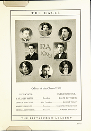 Page 15, 1926 Edition, The Pittsburgh Academy - Eagle Yearbook (Pittsburgh, PA) online yearbook collection