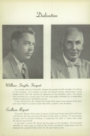 Page 10, 1951 Edition, Episcopal Academy - Tabula Yearbook (Newtown Square, PA) online yearbook collection
