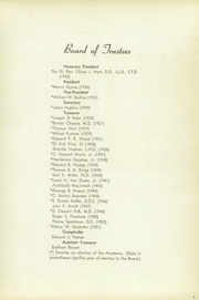 Page 11, 1951 Edition, Episcopal Academy - Tabula Yearbook (Newtown Square, PA) online yearbook collection