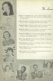 Page 14, 1951 Edition, Episcopal Academy - Tabula Yearbook (Newtown Square, PA) online yearbook collection