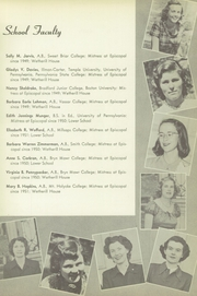 Page 15, 1951 Edition, Episcopal Academy - Tabula Yearbook (Newtown Square, PA) online yearbook collection