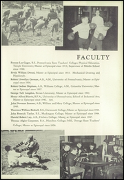 Page 15, 1952 Edition, Episcopal Academy - Tabula Yearbook (Newtown Square, PA) online yearbook collection