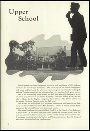 Page 16, 1952 Edition, Episcopal Academy - Tabula Yearbook (Newtown Square, PA) online yearbook collection