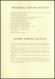 Page 8, 1953 Edition, Episcopal Academy - Tabula Yearbook (Newtown Square, PA) online yearbook collection