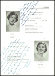 Page 17, 1951 Edition, Grier School - Pineneedle Yearbook (Birmingham, PA) online yearbook collection