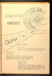 Page 15, 1954 Edition, Johnstown Bible School - Echo Yearbook (Johnstown, PA) online yearbook collection