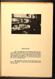 Page 5, 1954 Edition, Johnstown Bible School - Echo Yearbook (Johnstown, PA) online yearbook collection