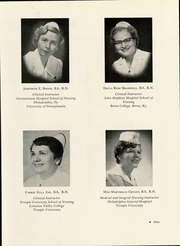 Page 13, 1956 Edition, Easton Hospital School of Nursing - Ligature Yearbook (Easton, PA) online yearbook collection
