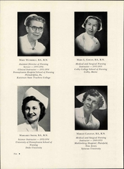 Page 14, 1956 Edition, Easton Hospital School of Nursing - Ligature Yearbook (Easton, PA) online yearbook collection