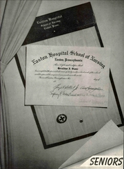 Page 15, 1956 Edition, Easton Hospital School of Nursing - Ligature Yearbook (Easton, PA) online yearbook collection