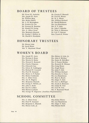 Page 8, 1956 Edition, Easton Hospital School of Nursing - Ligature Yearbook (Easton, PA) online yearbook collection