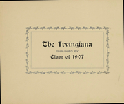 Page 2, 1907 Edition, Irving College - Irvingiana Yearbook (Mechanicsburg, PA) online yearbook collection
