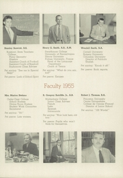 Page 15, 1955 Edition, Perkiomen School - Griffin Yearbook (Pennsburg, PA) online yearbook collection