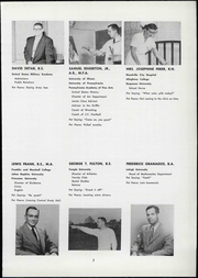 Page 13, 1957 Edition, Perkiomen School - Griffin Yearbook (Pennsburg, PA) online yearbook collection