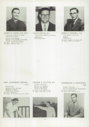 Page 10, 1958 Edition, Perkiomen School - Griffin Yearbook (Pennsburg, PA) online yearbook collection