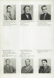 Page 12, 1958 Edition, Perkiomen School - Griffin Yearbook (Pennsburg, PA) online yearbook collection