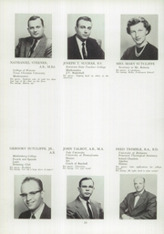 Page 14, 1958 Edition, Perkiomen School - Griffin Yearbook (Pennsburg, PA) online yearbook collection