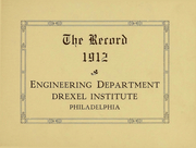 Page 2, 1912 Edition, Drexel Institute Engineering Department - Record Yearbook (Philadelphia, PA) online yearbook collection