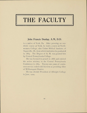 Page 11, 1911 Edition, Albright College - Speculum Yearbook (Reading, PA) online yearbook collection